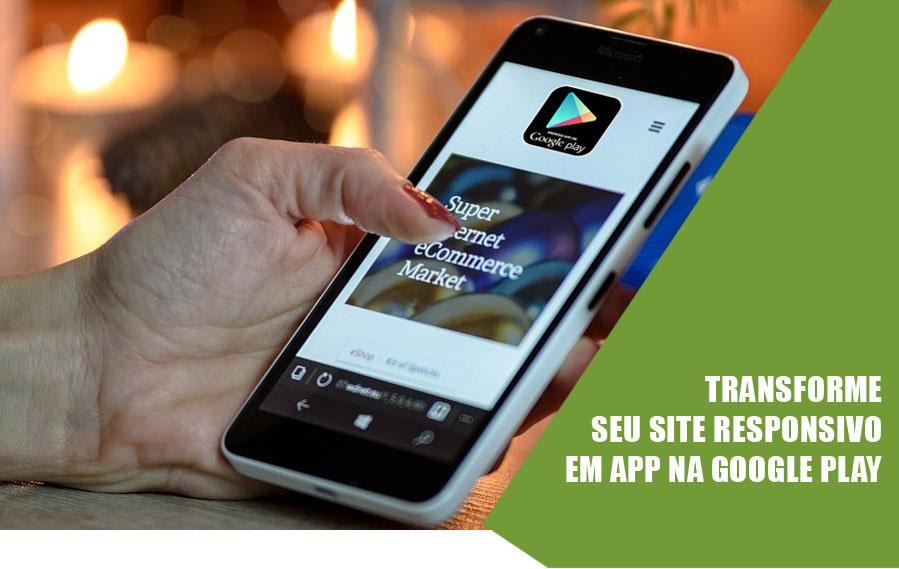 Transformar Site em App Android